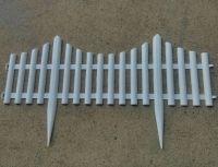 plastic garden fence, decorative plastic fence