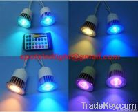 E27 led spotlight 5W RGB