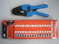 AN-10 terminal crimping tool for non-insulated cable links