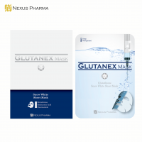 Glutanex Face Mask Sheets (Glutathione Face Mask 5 sheets + 15 sheets)