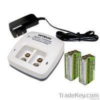 9v Li lon Rechargeable battery & Smart charger