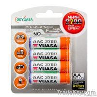 Ni-MH Rechargable Battery size AA UM3