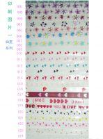 TPU Flower(pattern) Bra Straps 10x0.30mm