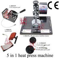 5 in 1 combo heat printing machine