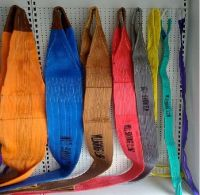 Polyester webbing sling, round sling, ratchet tie down