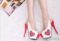 2012 new fashion high heel open toe women shoes