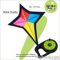 IP2H kite suits/Diamond kite+kite reel+kite line 218*155cm
