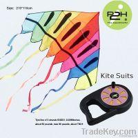 IP2H kite suits/Triangel kite+kite reel+kite line 210*110cm