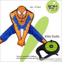 IP2H kite suits/cartoon kite+kite reel+kite line 147*90cm