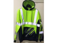 Wholesale Padded Jacket men's casual reflective safety wears
