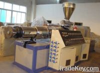 Extruder, extrusion line, mixer unit, granulation