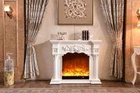 CE approved modern design decorative electric fireplace