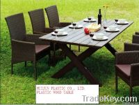 HJ Plastic Wood Table