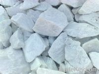 Talc powder and stones