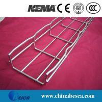 Pre-galvanized wire mesh cable tray