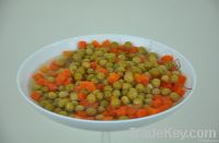 Canned Green Peas and Carrots