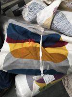 fabric stock, fabric cut piece, denim fabric, twill fabric, poplin fabric