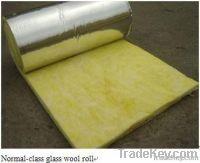 Glasswool blanekt, fiberglass blanket with aluminum foil