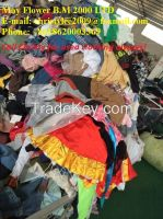 used clothing/second-hand clothing