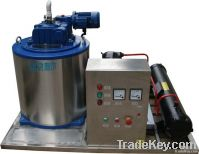 small seawater ice flake machine / ice maker used on boat 1ton per day