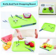 Knife And Fork Chopping Board
