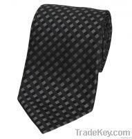 Tundora Grey Silk Tie