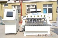 2012 Newest, Multi Spindle Woodworking CNC Router  Machine SUBA 1325-6