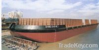 steel cargo barge