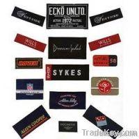 Weaving Clothing Label