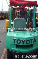 used forklift toyota 3t diesel forklift, year 2000, used forklift