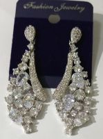 CZ Pave Earrings