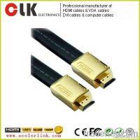 1.4v flat HDMI cable 1080p 3D