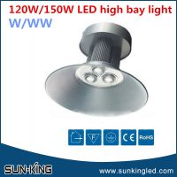 AC85v-265v 50W/80W/100W/120W/150W/200W led high bay light factory, epistar/bridgelux led pendant lamp white
