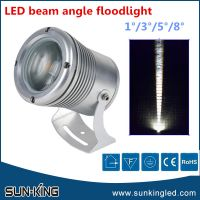 New design long distance lighting 5degree 24V 10W led narrow beam angle projection lamp