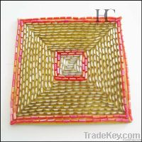 Modern Beaded Home Decoration of Cup Mats/Pads