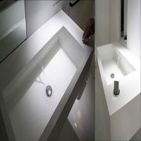 Contemporary Flushing Bathroom sinks - White and 2021 latest sinks