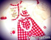 Baby 5 pcs Set with Cardigan for Girls