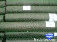 Stock hexagonal wire mesh for gabion box or Chicken wire
