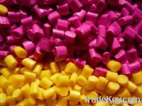 Modified plastic raw material of PA66