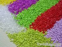 Modified plastic raw material of LCP