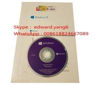 Windows/win 10 Professional Genuine /Original License Key Code COA Sticker& DVD& sealed packing box
