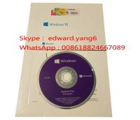 Windows/win 10 Professional Genuine /Original License Key Code COA Sticker& DVD& sealed packing box