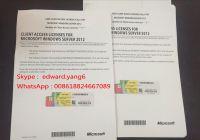 Server 2016 CAL Genuine /Original License Key Code COA Activation Label Sticker cert