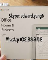 office 2019 Home and business PC Key Code Key Card retail sealed packing box
