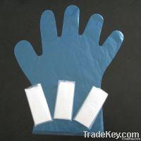 Disposable transparent plastic pe glove