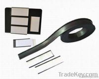rubber magnet roll, adhesive rubber magnet