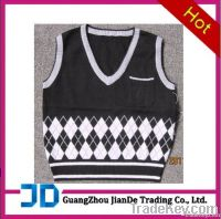 boy's knitted vest sweater