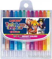 twistable crayon/retractable crayon/plastic crayon/crayon