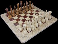 Marble , Onyx Chess Set
