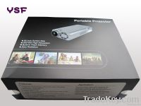Rechargeable pico projector